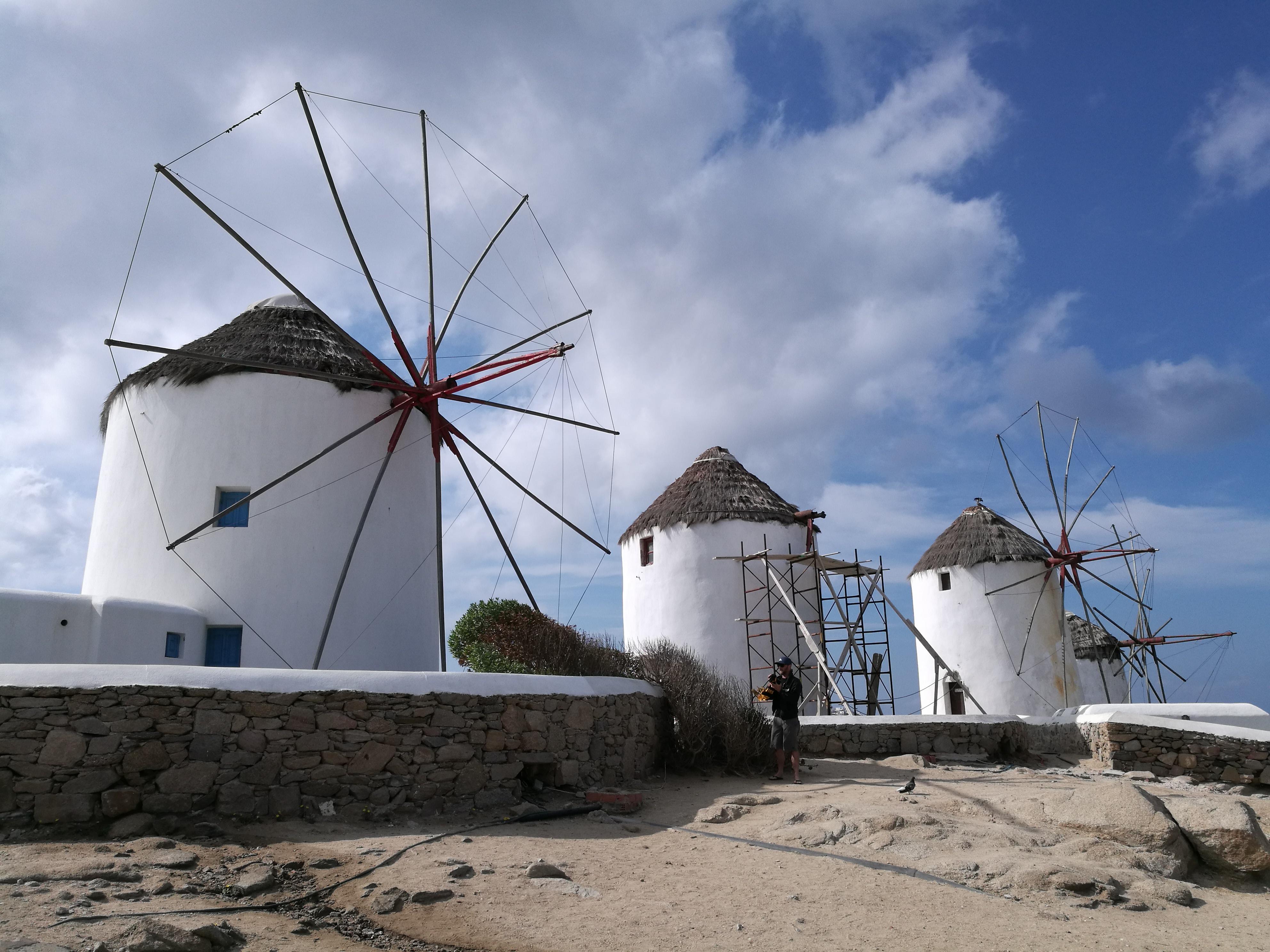 Windmills@Mykonos