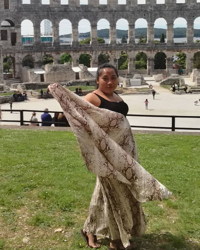Lady Gladiator !!! #pula #pola #istria #istra #arena #coloseum #europe #eurotrip2019