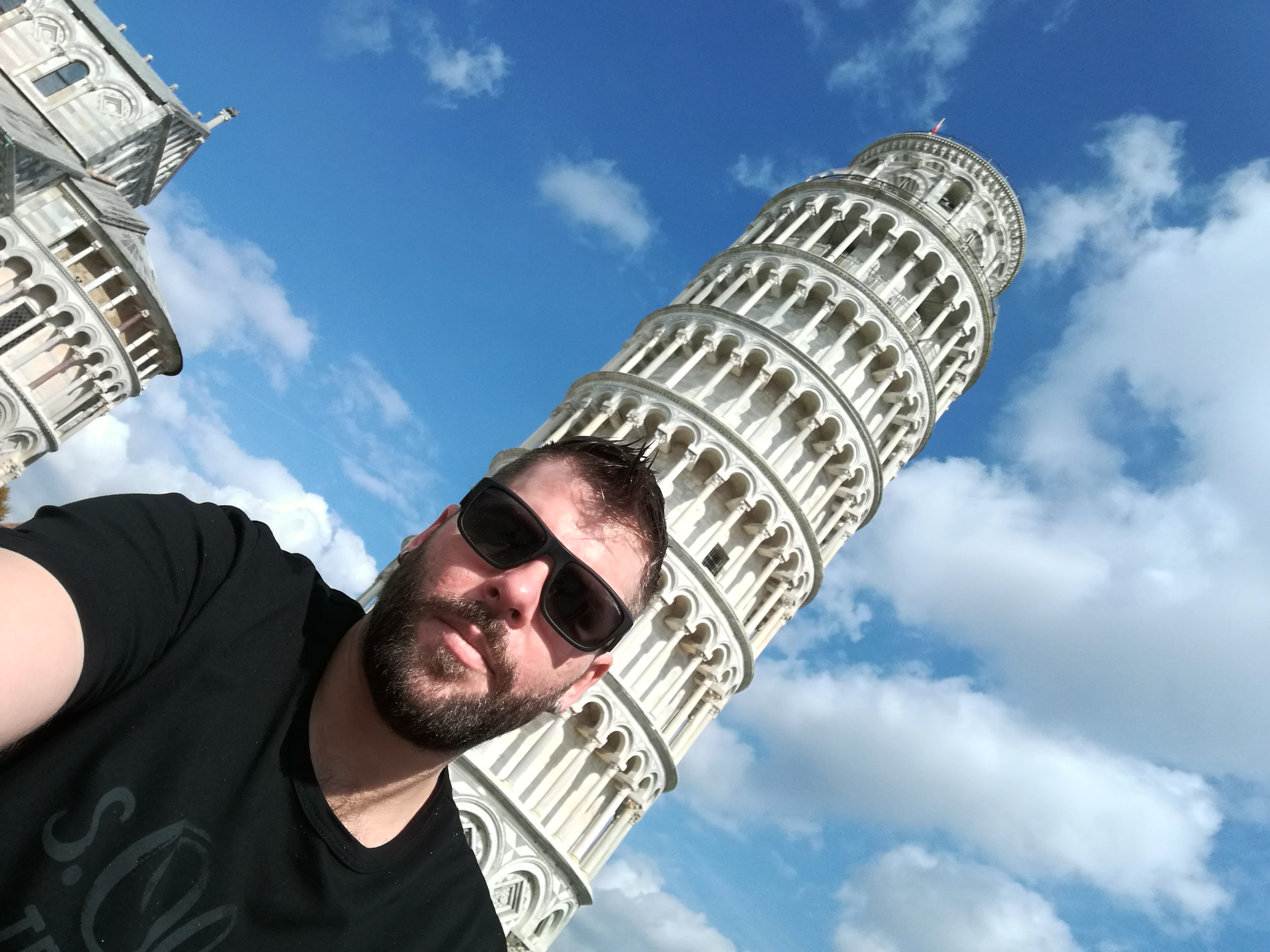 Selfie with tower